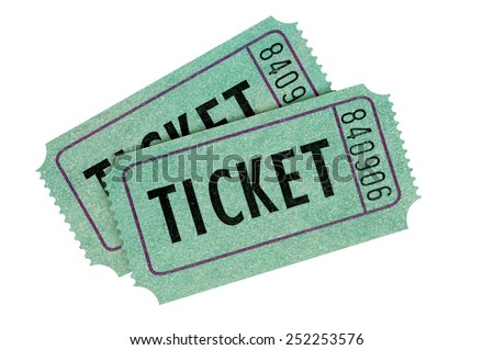 Raffle Ticket Isolated Stock Images RoyaltyFree Images  Vectors