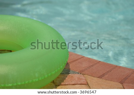 Raft by Pool