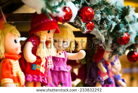 Rag dolls as Christmas gift