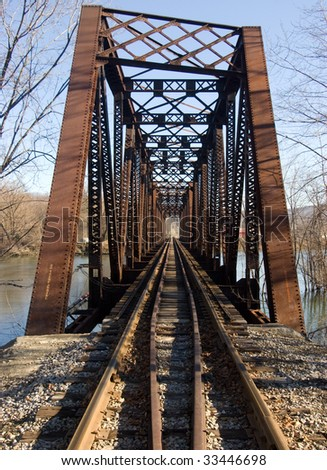 railroad bridge over the Allegheny River