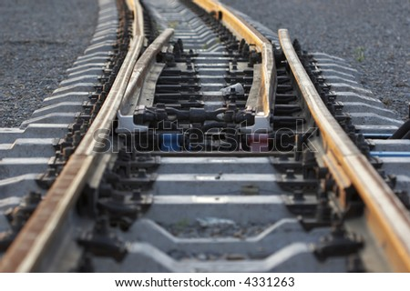 railway lines lead in nowhere