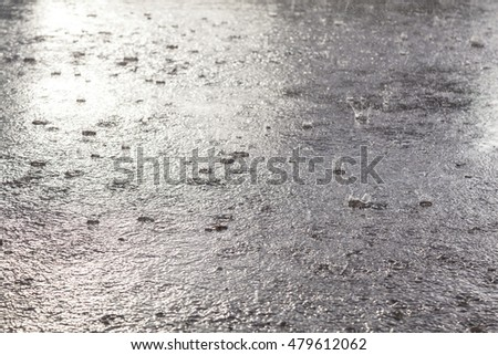 Rain flood  in September