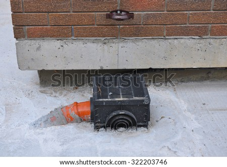 Biysk russia may 29 2010old red stock photo 346043777 for Rain drainage system