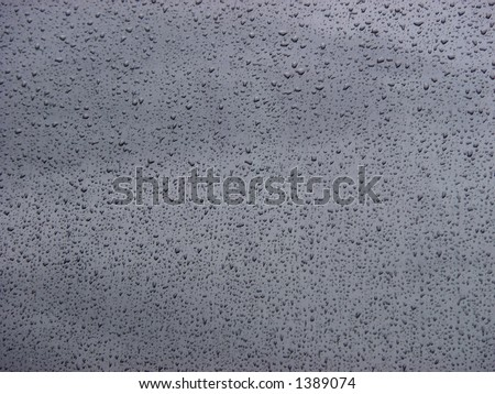 rain & window (see more in my portfolio) - stock photo