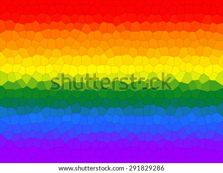 rainbow gradient background. Gay and LGBT flag. Gay culture symbol. Textured - stock photo