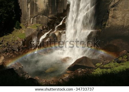 Rainbow over Vernal Fall