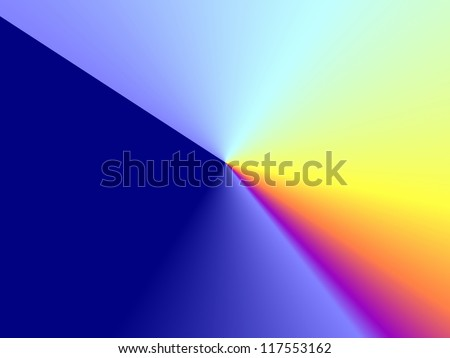rainbow prism  background - stock photo