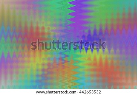 Rainbow waves of color twirl twist turn spiral spin red yellow orange green blue purple violet background backdrop pattern vivid psychedelic  - stock photo