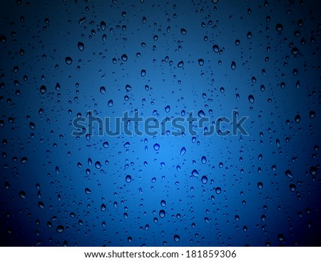 raindrop background