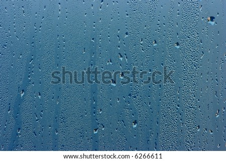 Raindrops on the window