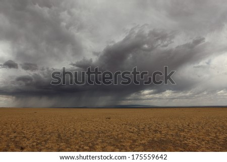 Rainy Season in the Desert Gobi Mongolia