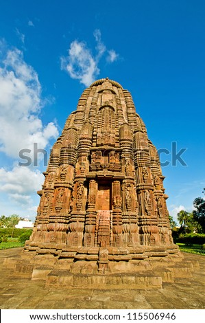 Rajarani Temple, Bhubaneswar, Orissa, India - stock photo