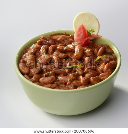 Rajma Masala with gravy, India