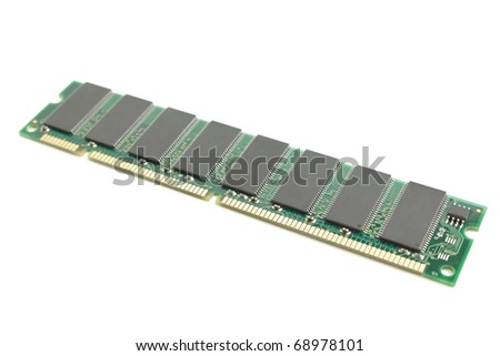 ram over the white background