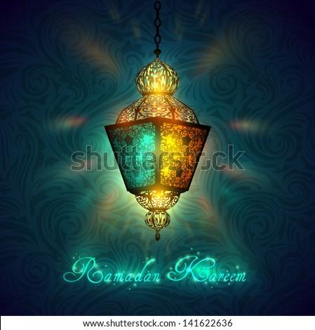 Ramadan Kareem celebration - raster version - stock photo