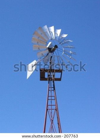 ranch windmill tower