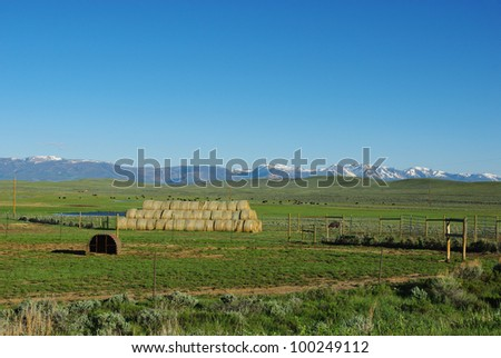 Ranchland and Rockies, Colorado
