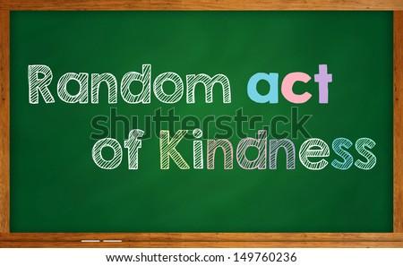 Random act of kindness - stock photo