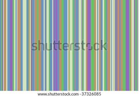 "Random stripes in the same colors as my ""Dots"" illustration"