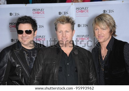 RASCAL FLATTS at the 33rd Annual People's Choice Awards at the Shrine Auditorium, Los Angeles. January 9, 2007 Los Angeles, CA Picture: Paul Smith / Featureflash