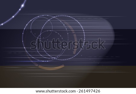 Raster Abstract Modern Background - stock photo