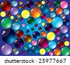 Raster    Color buttons background  (Vector version 23657596) - stock photo