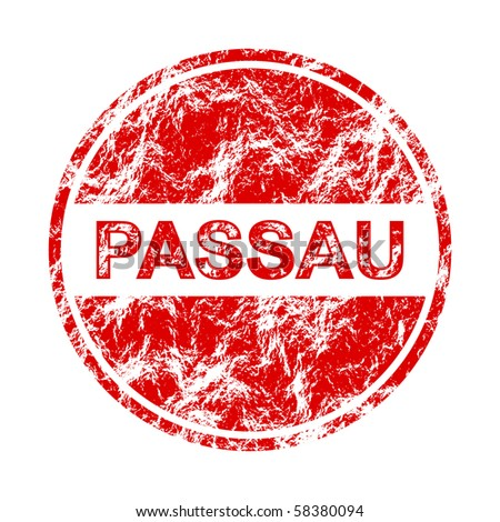 raster illustration passau label