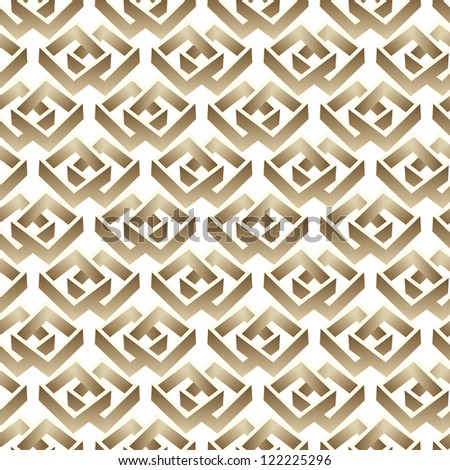 raster seamless abstract 3d graphic pattern background - stock photo