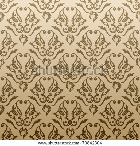 Raster seamless abstract ornament background. Vector original search in my portfolio - stock photo