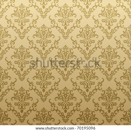 Raster seamless background vintage beige. Vector copy search in my portfolio - stock photo