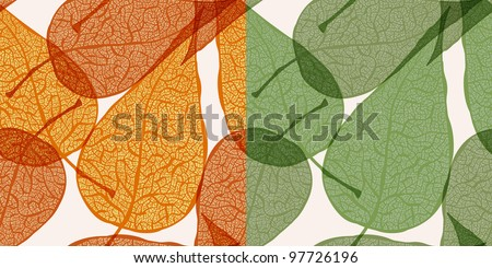 raster version,  background with autumn leaves,