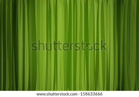 raster version green curtain - stock photo