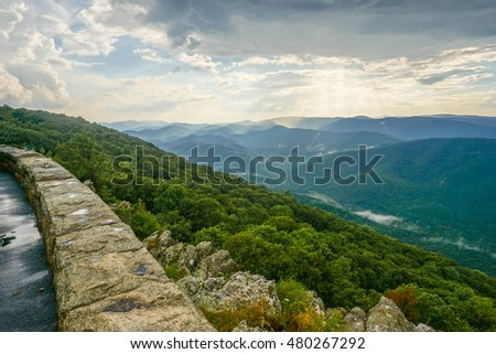Raven's Roost Overlook, Blue Ridge Parkway