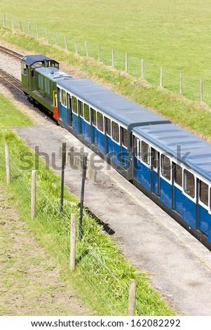 Ravenglass and Eskdale narrow gauge railway, Cumbria, England - stock photo
