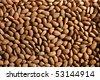 Raw almonds - stock photo
