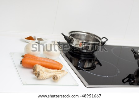 Raw food - stock photo