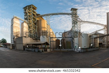 Raw material Silo in Feed mills