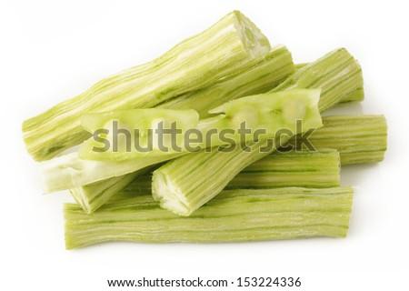Raw moringa - stock photo