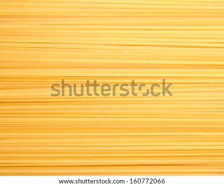 raw spaghetti background - stock photo