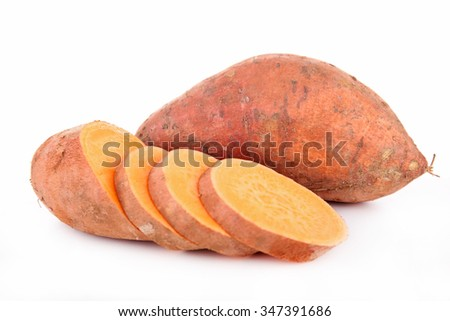 raw sweet potato