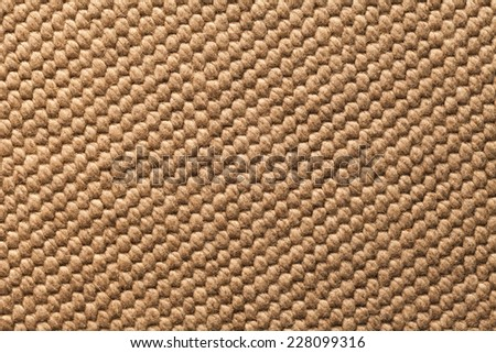 Raw textile material patter close-up - stock photo