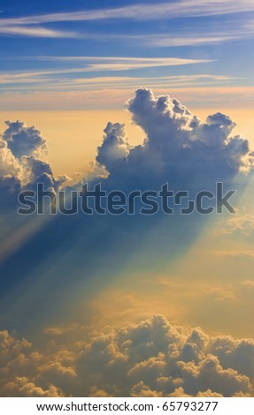 Ray of Light - stock photo