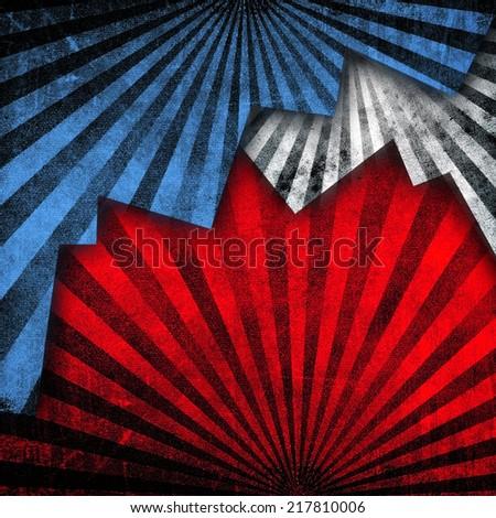 ray pattern background  - stock photo