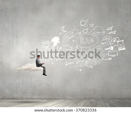 Read to broaden your mind - stock photo