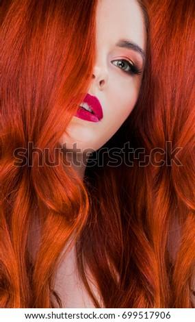 Readhead stock images royalty free images vectors shutterstock readhead woman beauty studio portrait close up voltagebd Images