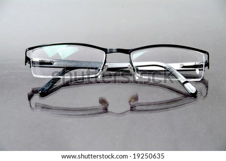 Reading eyeglasses - stock photo