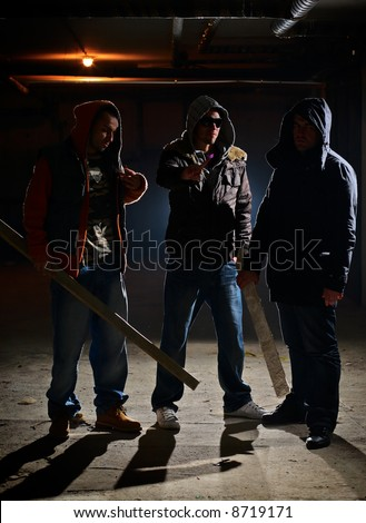 Ready for a fight - stock photo