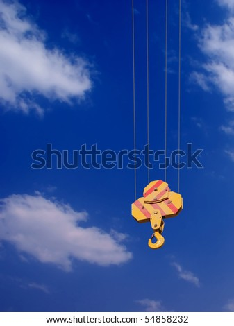 Ready to hook the opportunities - stock photo