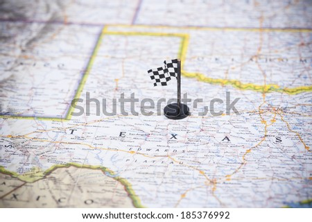 Ready to race in Texas? - stock photo