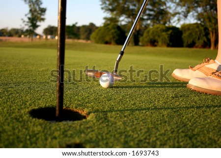 Ready to score - stock photo